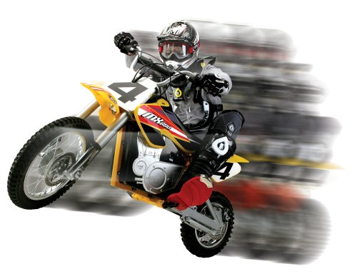 Age for riding Razor MX650 electric dirt bike