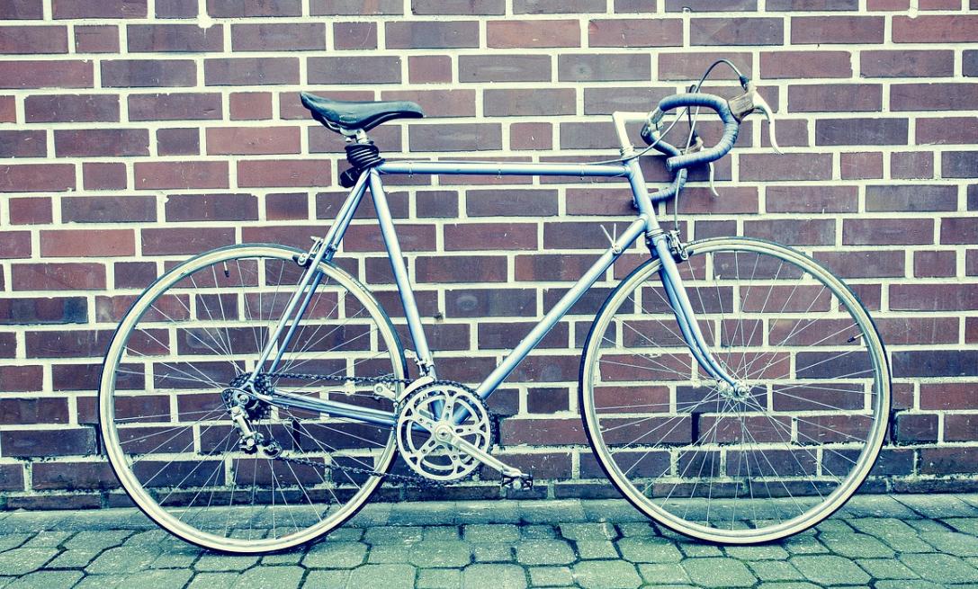 Fixie Bike on the wall